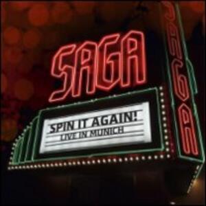 Saga. Spin it Again! Live in Munich - DVD