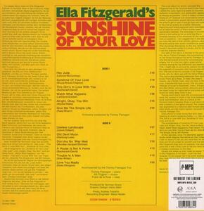 Sunshine of Your Love - Vinile LP di Ella Fitzgerald - 2