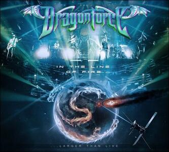 DragonForce. In the Line of Fire - DVD