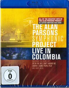 The Alan Parsons Symphonic Project. Live in Colombia - Blu-ray