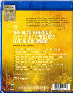 The Alan Parsons Symphonic Project. Live in Colombia - Blu-ray - 2