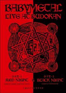 Babymetal. Live At Budokan: Red Night Apocalypse. Day 1-2 - Blu-ray