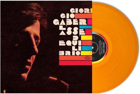L'asse di equilibro - Vinile LP di Giorgio Gaber