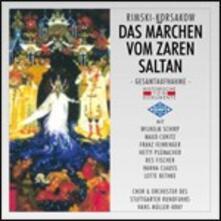 La storia dello Zar Saltan - CD Audio di Nikolai Rimsky-Korsakov