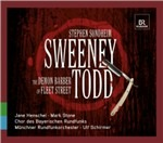 Cover CD Colonna sonora Sweeney Todd: il diabolico barbiere di Fleet Street