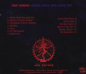 CD Where Have You Gone to di Shivas 1