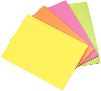 Cartoleria Sticky Notes Info Notes Maxi - Confezione 4 blocchi da 50 fogli Info Notes