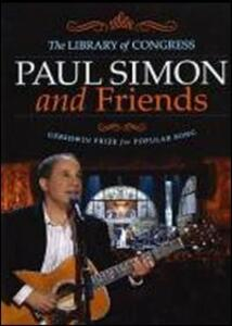 Paul Simon and Friends. Library of Congress Gershwin Prize for Popular Song - DVD