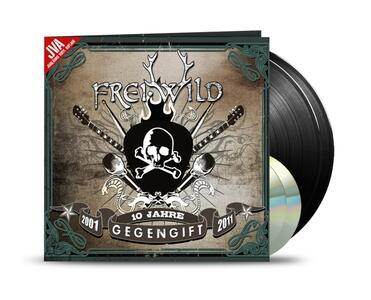 Gegengift. Ten Year 2001-2011 - Vinile LP + CD Audio di Frei.Wild - 2