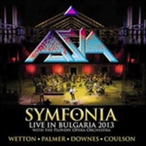 Symfonia. Live in Bulgaria 2013 - Vinile LP di Asia