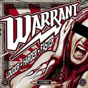 Louder Harder Faster - Vinile LP di Warrant