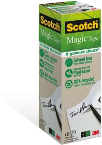 Cartoleria 3M Post-it. Nastro Scotch Magic 900 Invisibile Permanente Scotch