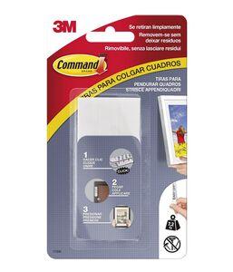 Cartoleria 3M Post-it. Strisce Appendiquadri Size L. Colore Bianco Command
