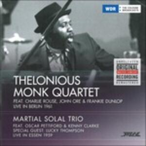 Live in Berlin 1961 - Vinile LP di Thelonious Monk,Martial Solal