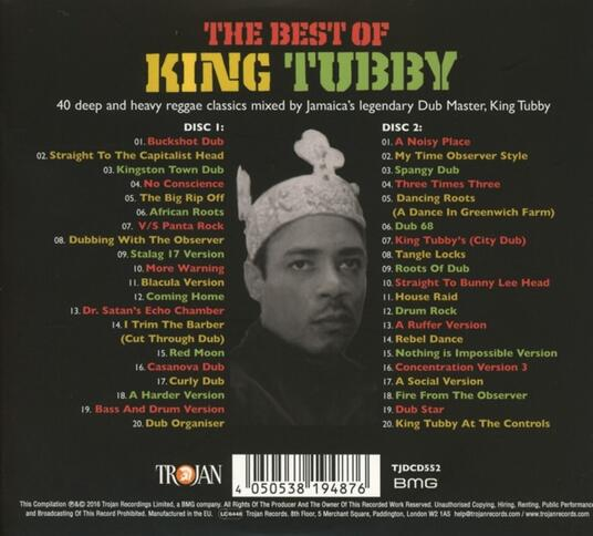 Best of - CD Audio di King Tubby - 2