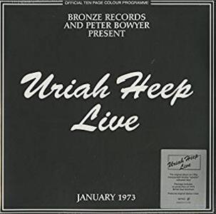 Live 1973 - Vinile LP di Uriah Heep