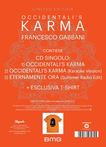 CD Occidentali's Karma di Francesco Gabbani 2