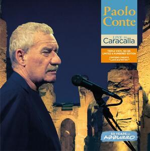 Live in Caracalla. 50 Years of Azzurro - Vinile LP di Paolo Conte