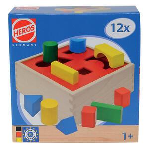 Heros. Box Forme in Legno Colorato - 2