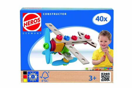 Giocattolo Heros Constructor, Airplane Heros