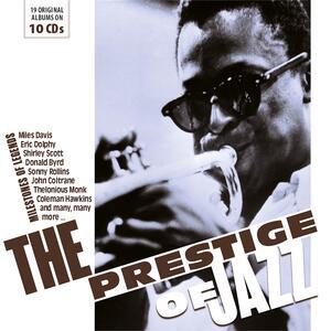 CD The Prestige of Jazz. Milestones of Legends