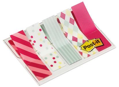 Cartoleria 3M Post-it. Segnapagina Miniset Fantasia Candy 5x20 Segnapagine (6 Pz) Post-it