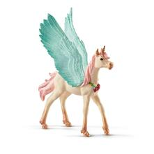 Schleich 2570575. Decorated Unicorn Pegasus Foal