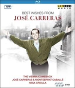 José Carreras. Best Wishes From (3 Blu-ray) - Blu-ray