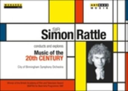 Sir Simon Rattle Conducts And Explores Music Of The 20th Century (5 DVD) - DVD