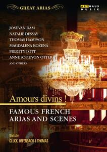 Amours divins! Famous French Arias and Scenes - DVD