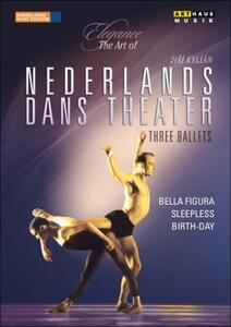 Nederlands Dance Theatre. Three Ballets: Bella Figura, Sleepless, Birth-day - DVD