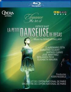 Denis Levaillant. La petite danceuse de Degas. Patrice Bart - Blu-ray