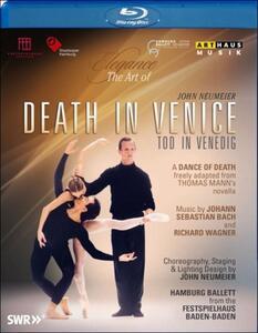 Death In Venice. Morte a Venezia. John Neumeier di Norbert Beilharz - Blu-ray