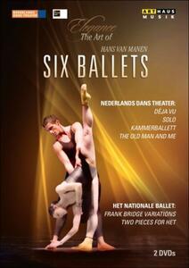 Hans Van Manen. Six Balletts - DVD