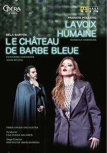 La voix humaine - Il castello di Barbablù (DVD) - DVD