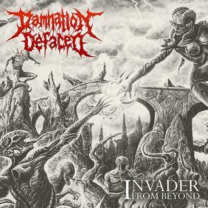 Invader from Beyond - Vinile LP di Damnation Defaced