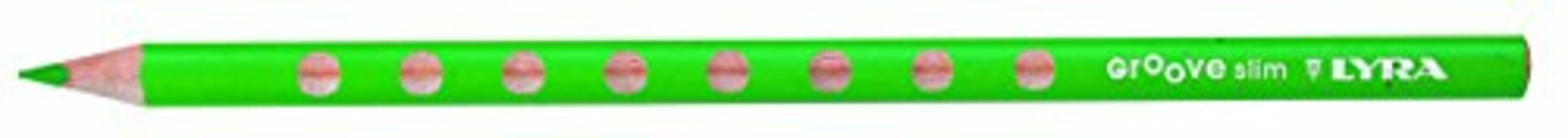 Pastelli Lyra Groove Slim. Scatola 12 matite colorate assortite + temperino - 2