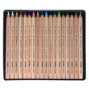 Pastelli Lyra Color Giants Nature. Scatola in metallo 18 matite colorate assortite - 2