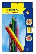 Cartoleria Lyra Super Ferby astuccio appendibile 12 pezzi Lyra