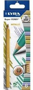 Cartoleria Lyra Super Ferby astuccio appendibile 6 pezzi Metallic Lyra