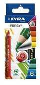 Cartoleria Lyra Super Ferby astuccio appendibile 6 pezzi Duo Lyra