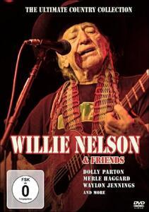 Willie Nelson. Willie Nelson & Friends - DVD