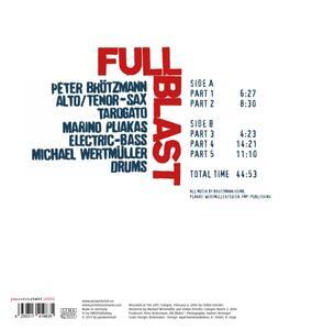 Full Blast - Vinile LP di Peter Brötzmann - 2