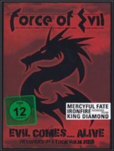 Force of Evil. Evil Comes... Alive - DVD