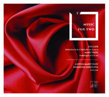 Music for Two - CD Audio di Anton Martynov,Kremena Nikolova