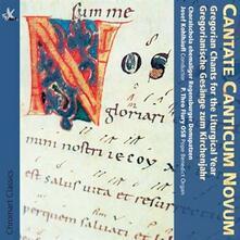 Cantate Canticum Novum - CD Audio