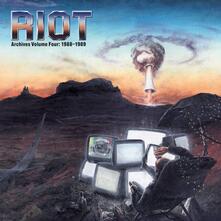 Archives vol.4 1988-1989 - CD Audio + DVD di Riot