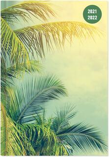 Cartoleria Diario agenda Collegetimer Alpha Edition 2021-2022, 16 mesi, settimanale, Tropical Dream - 15x21 cm Alpha Edition