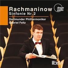 Sinfonia n.2 op.27 - SuperAudio CD di Sergej Vasilevich Rachmaninov