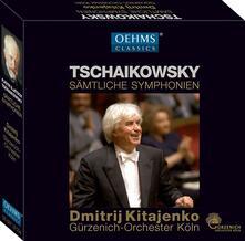 Complete Symphonies - CD Audio di Pyotr Ilyich Tchaikovsky